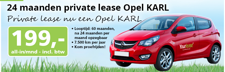 Yourlease Opel Karl